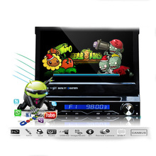Pure Android 4.11 with 7″ Capacitive 1024*600 Detachable panel Single Din Car DVD GPS with 3g/wifi/bt/radio/ipod/free map