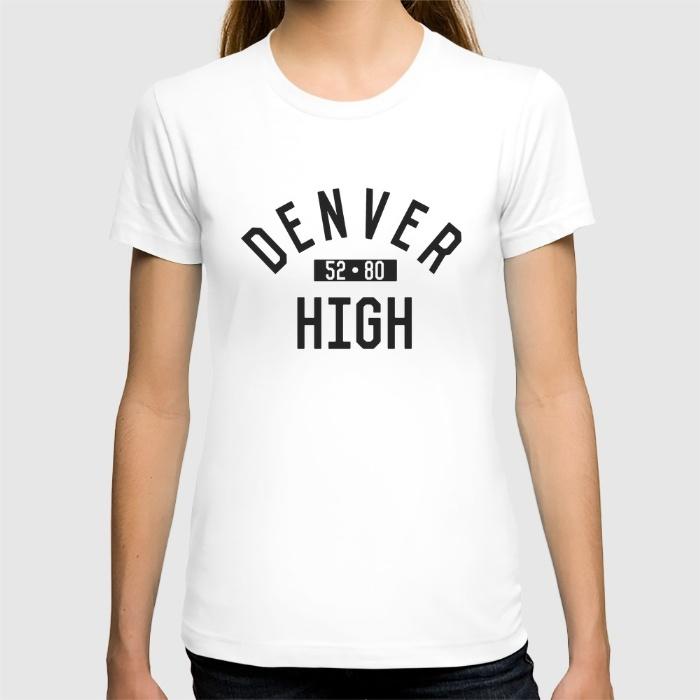 Promoción De Denver Camisa De Alta Calidad