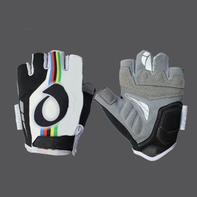New Half Finger Cycling Gloves red blue black gray Bike bicycles gloves with Silicon pads for Tour of Japan(China (Mainland))