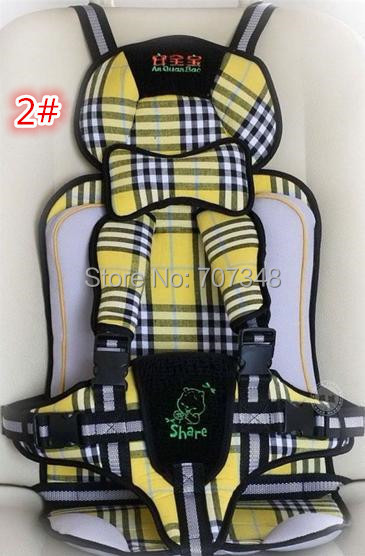 Made in China Free shipping&High quality Baby Car Seats/Child safety car seats / child car seat 7 colors Baby Safety Autos seat(China (Mainland))