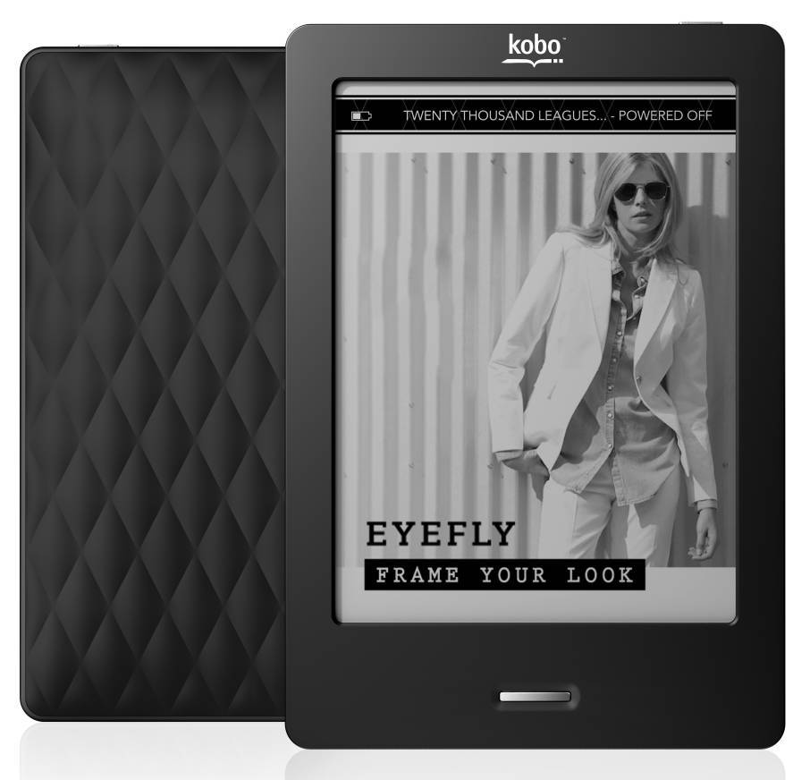 Best!! e-book reader e-ink Kobo Touch N905 PDF eBook Reader e-ink 6 inch Infrared Touch screen WiFi 2GB electronic Book ereader(China (Mainland))