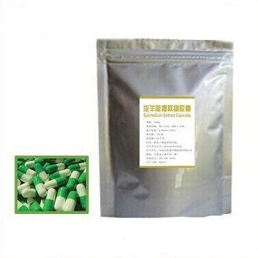 2pcs Health&Care Pruduct herbal viagra yin yang huo&Horny Goat Weed&Epimedium extract caps sex aphrodisiac for men Free shipping(China (Mainland))