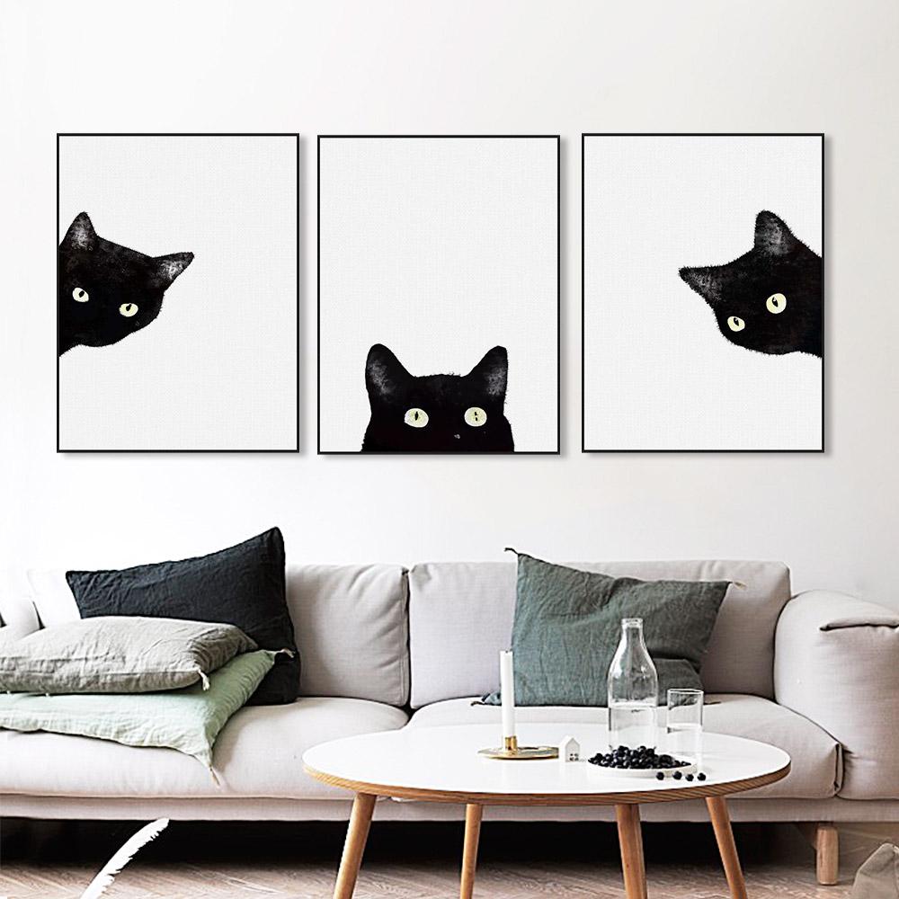 Popular modern cat art buy cheap modern cat art lots from for Modern cat accessories