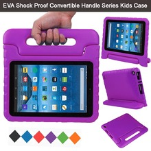 "EVA Shockproof Light Weight Kids Case Super Protection Cover Handle Stand Case For Amazon Fire HD 8 2015 8"" Kindle Tablet"
