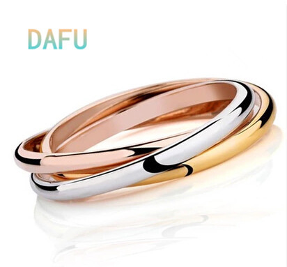 3 Color Pulseiras 18k India Gold-plated Bracelets Bangles Women Pulseras Nail Bracelet 316L Stainless Steel - DAFU JEWELRY store