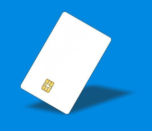 (10 pcs/lot) ISO7816 Contact SLE 4442 Chip PVC Smart IC Card(China (Mainland))