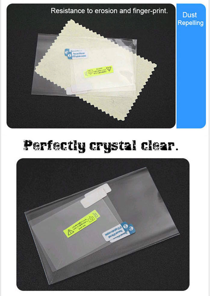 LCD Screen Protection Shield Guards Protector film For Nintendo DSL DS Lite(China (Mainland))
