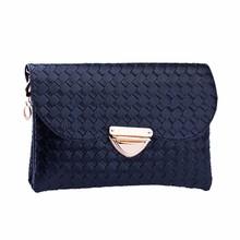 flama Women Weave Pattern Wallet Shoulder Messenger Bag Handbag Female Fashion Designer Quilted top-handle Bag Free Shipping2017(China (Mainland))