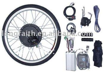 48V 1000W Rear Wheel e-bike,e-bicycle,ebike,electric bicycle,electric bike conversion kits with brushless gearless hub motor
