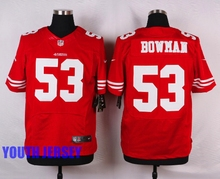 Stitiched,San Francisco 49ers,Carlos Hyde,Hayne NaVorro Bowman Eric Reid Anquan Boldin,Montana Patrick Willisfor youth,KIDS(China (Mainland))