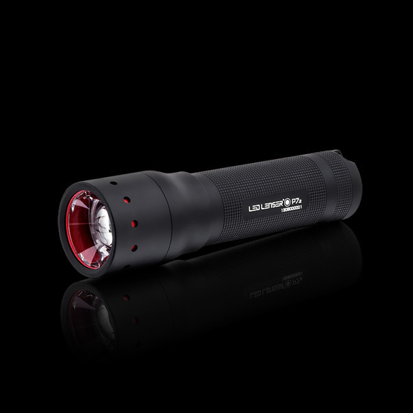 Free Shipping LENSER P7.2 Professional Strong Light Zoom Tactical LED Flashlight Torch for Rifle Hunting(China (Mainland))