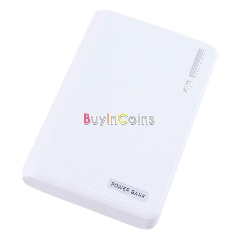 30000mAh Dual USB External Power Bank Backup LED Battery Charger for iPhone #58161(China (Mainland))
