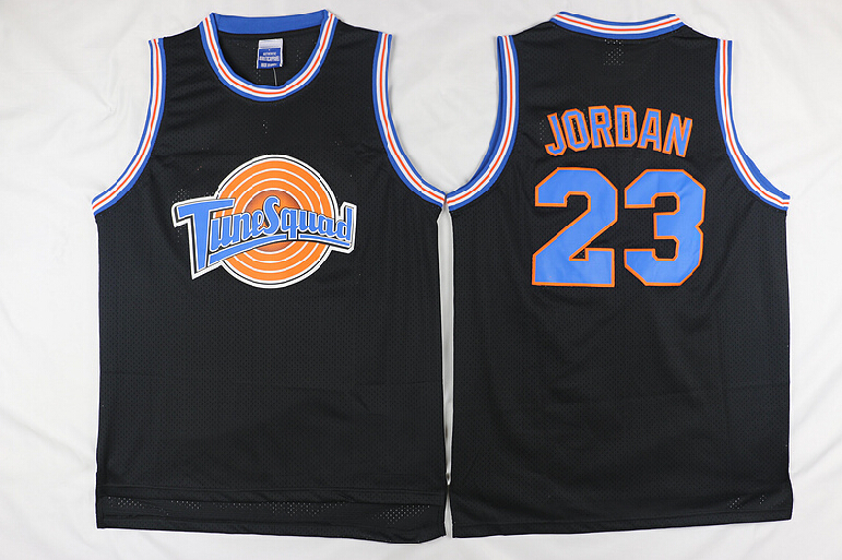 Movie Men #23 Jordan Basketball jerseys Tune Squad Space Jam Throwback Sports t shirts(China (Mainland))