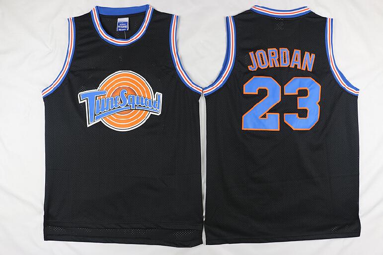 Movie Men #23 Jordan Basketball jerseys Tune Squad Space Jam Throwback Sports t shirts(China (Mainland))