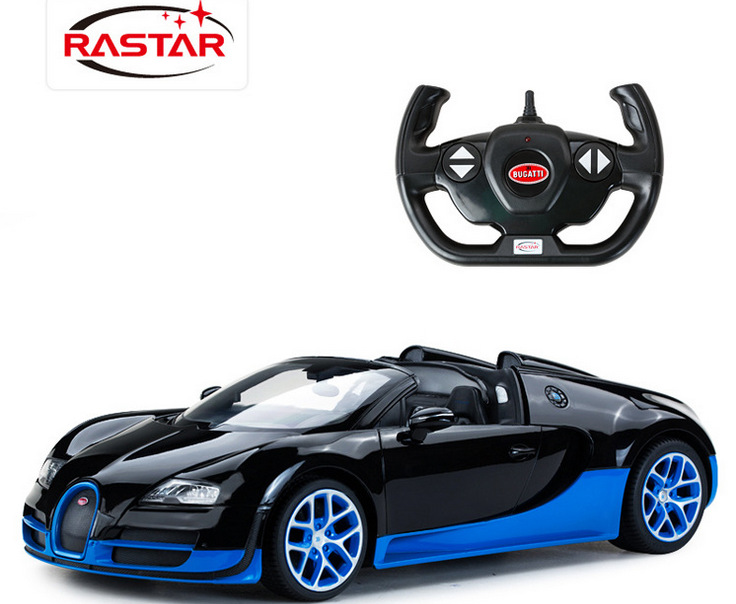 Remote control car The toy car model star Bugatti Veyron super car charging electric remote control toy vehicle 1:14(China (Mainland))