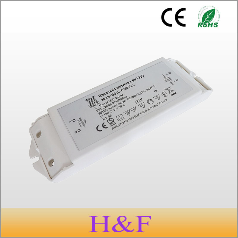 Free Shipping Constant Current LED driver 9-18W 700mA AC-DC LED lighting transformer adapter power supply for LED lamp 2pcs/lot(China (Mainland))