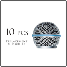 10PCS Replacement Ball Head Mesh Microphone Grille for Shure BETA 58 BETA 58A SM58 SM58S SM58LC(China (Mainland))