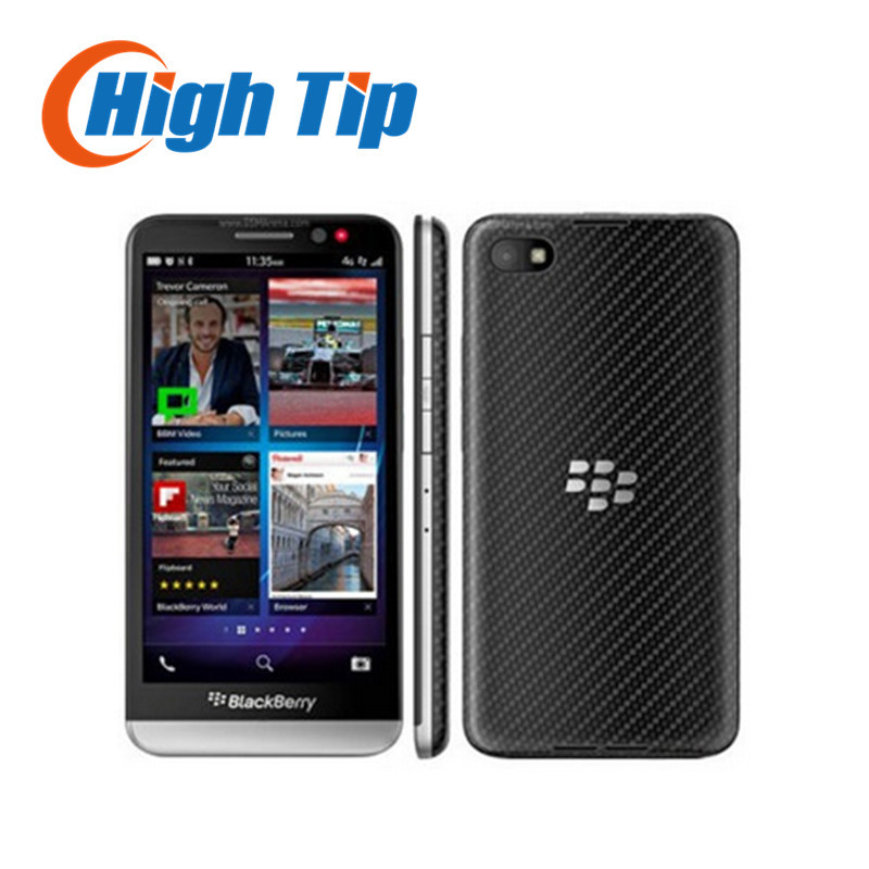 Unlocked Original BlackBerry Z30 Mobile Phone 8.0MP Camera 5 inch Touchscreen Dual-Core 16GB ROM 2G/3G/4G Network Refurbished(China (Mainland))