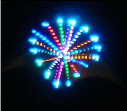 Free Shipping NEW design fireworks display led kite
