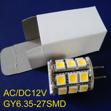 High quality 12V led GY6 bulb,led GY6.35 lamp 12v,led gy6 light 12v free shipping 20pcs/lot