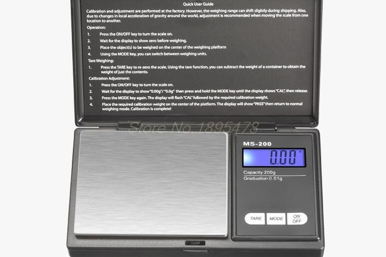 50PCSMini Precision Digital Scale 1000g x 0.1g Jewelry Gold Silver Coin Gram Pocket Size Display Units Pocket Electronic Scales(China (Mainland))