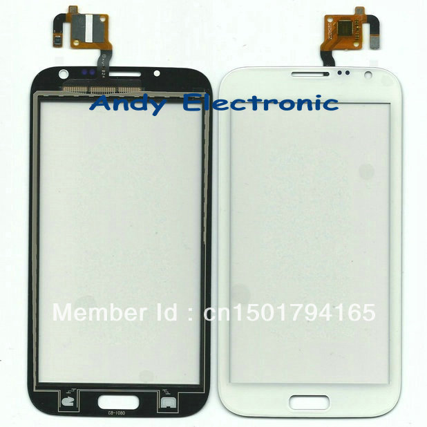 XY-1024 n7102 N7100 Original New Touch Screen Digitizer/Replacement Phone Free Shipping AIRMAIL HK + tracking code White