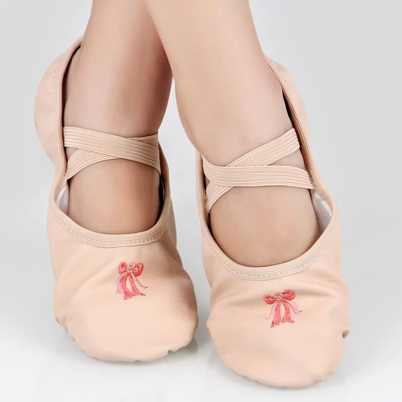 2016 Woman's Ballet Shoes 33-40 PU Athletic Dance Shoes Soft Ballet Dancing Slippers for Woman(China (Mainland))