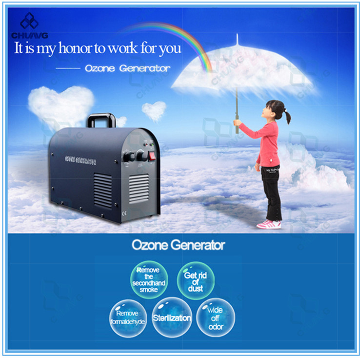 New Hot Selling 6g Portable Ozone Generator Air Purifier Water Purifier With Domestic Patent(China (Mainland))