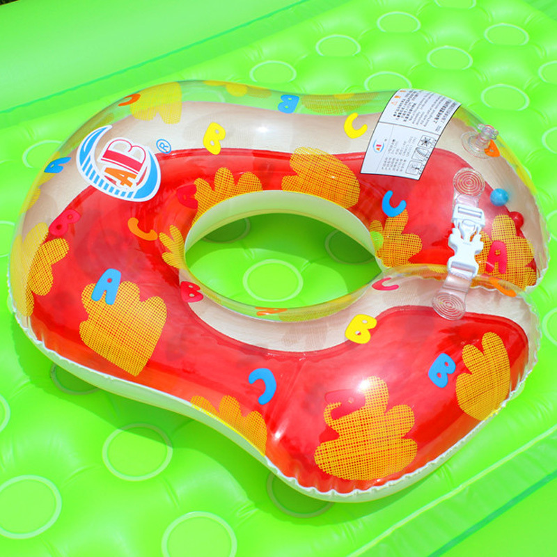 New Safety Baby Swimming Ring U-Shape Inflatable Toddler Underarm Ring Piscina Swim Float Neck Ring Free Shipping 3 Color(China (Mainland))