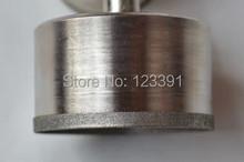 Envío gratis de electrochapado diamante fino estupendo pared agujero consideró la herramienta 30 * 52 * 22 mm para procesamiento de jade pulsera tienda