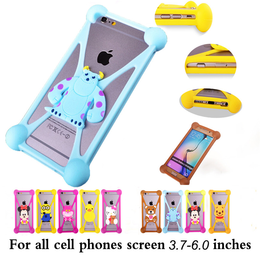 Anti-knock 3D Cute Cartoon Soft Silicone Case For HTC Butterfly X920e Droid DNA Back Cover For HTC Butterfly X920e Phone Case(China (Mainland))
