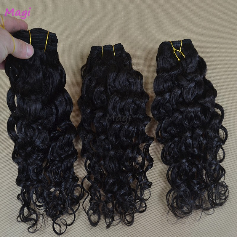 6A Virgin Unprocess malaysian curly hair 100g Piece Thick Single Drawn Curly Hair