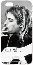 Nirvana Kurt Cobain Cell Mobile Phone Case Plastic Hard Cover For iphone 4 4S 5 5S SE 5C 6 6S Plus For iPod Touch 4 5 6 Cases