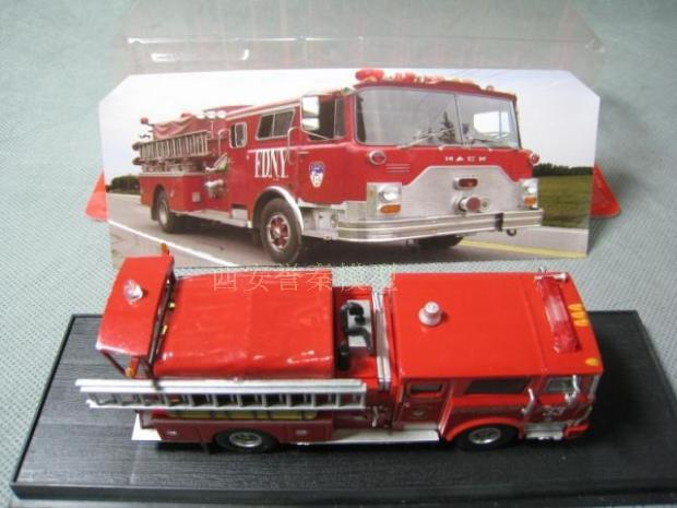 1:64 1979 US CF Pumper Fire truck Model Toy Free shipping(China (Mainland))