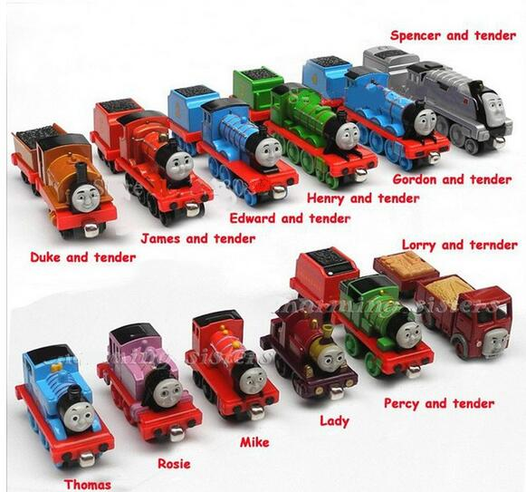 20pcs/lot Free shipping diecast metal thomas and friends train the tank engine toys for children kids Christmas gift(China (Mainland))