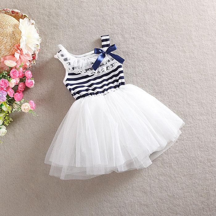 Платье для девочек Girls cotton dresses A036 girl summer dress