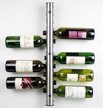 Umiwe Creative Wine Rack Holders 8 12 Holes Home Bar Wall Wine Bottle Display Stand Rack Suspension Storage Organizer(China (Mainland))