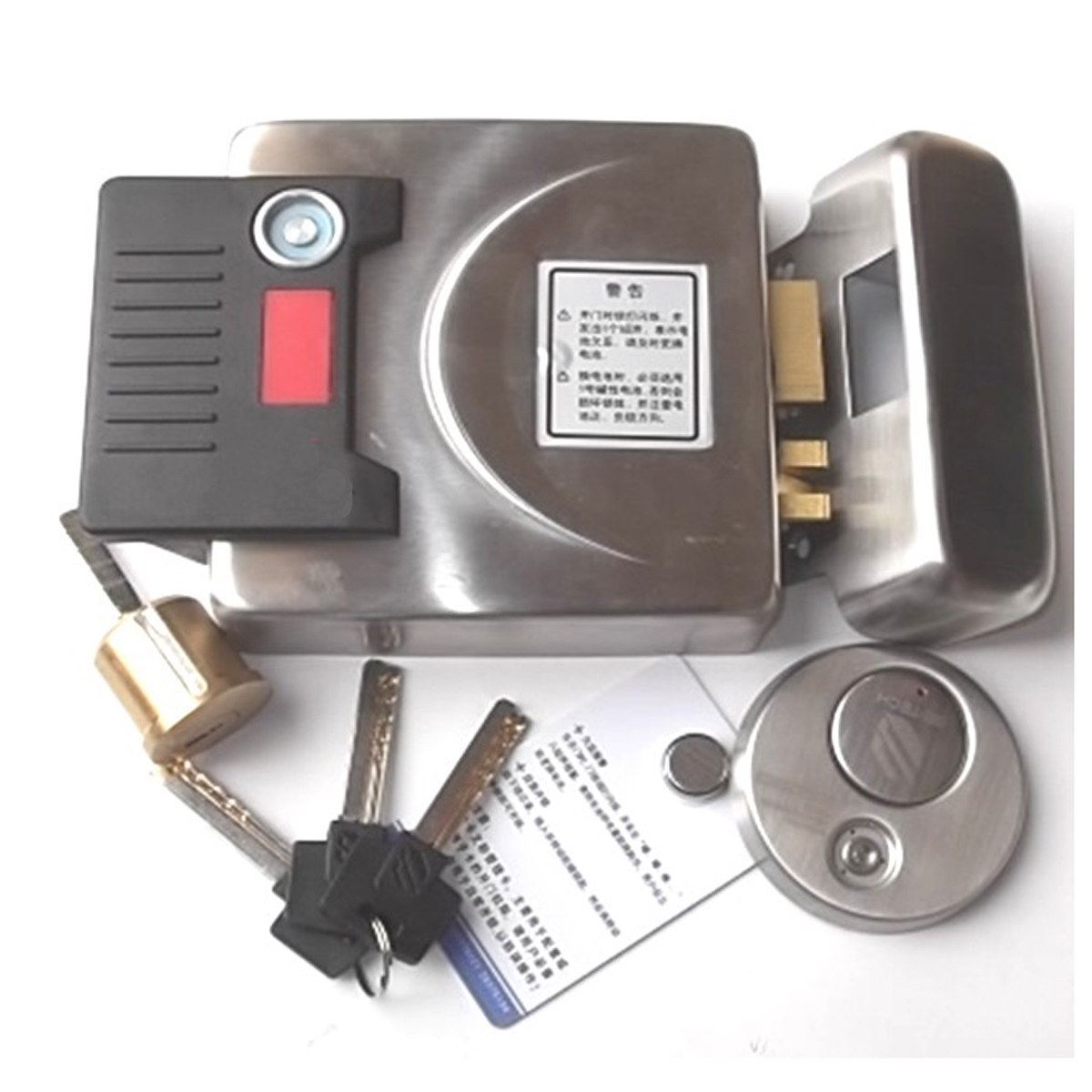 Free shipping Tm card induction electric electronic door pick proof lock(China (Mainland))