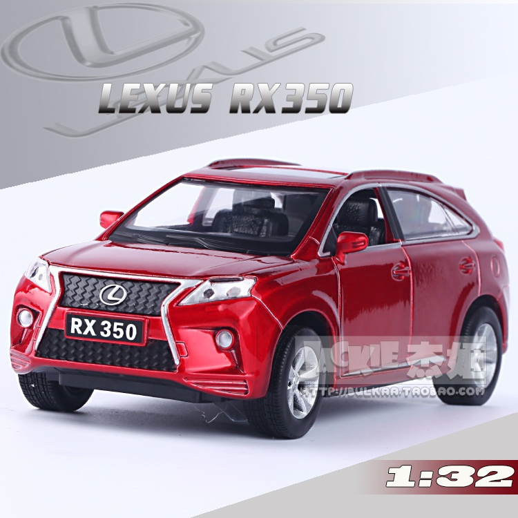 High Simulation Exquisite Model Toys: ShengHui Car Styling LEXUS RX350 Luxury SUV Car Model 1:32 Alloy Car Model Excellent Gifts(China (Mainland))