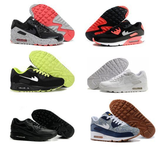 Free Shipping 2015 Top Quality 90 Hyperfuse Prm Running Shoes for men women With Air Cushion HYP sports sneakers shoes size36-45(China (Mainland))