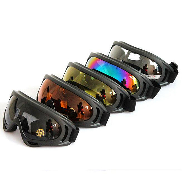2014 High Quality Outdoor Windproof Glasses Ski Goggles Dustproof Snow Glasses Men Motocross Riot Control Goggles Downhill(China (Mainland))