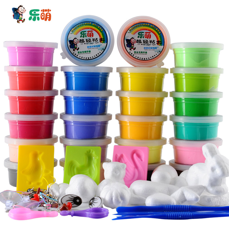 buy ultra light 24 magic clay 3d dough child modeling