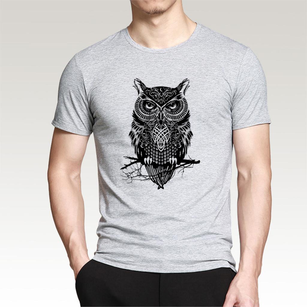 Shirt design website cheap - 2017 Fashion Men S Cotton T Shirt Printed Owl Drake Plus Size Brand Printed Casual T