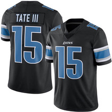 Men's #15 Golden Tate III Elite Black Rush Football Jersey 100% stitched(China (Mainland))
