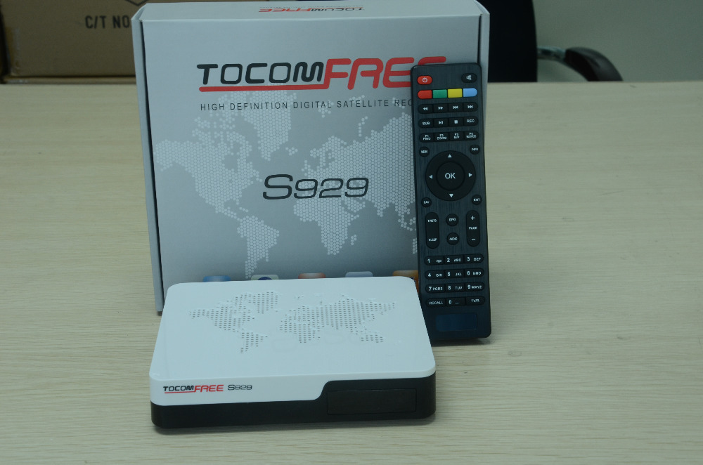 Full hd tocomfree s929 iks sks free for Brazil satellite receiver/Twin tuner receptor android tv box free shipping(China (Mainland))
