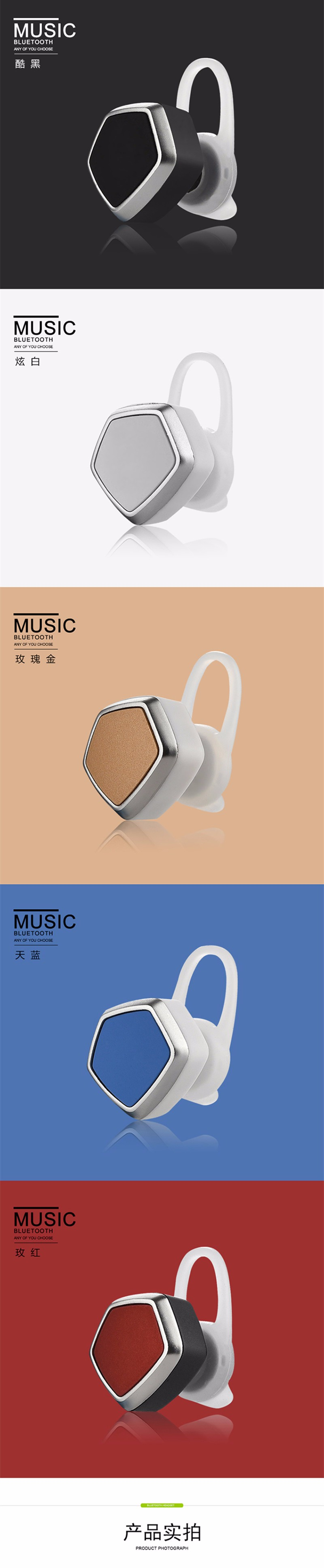 GutsyMan 2016 new styles Super Bass high Quality Earphone wireless Bluetooth H350 for Mobile Computer MP3 cool outlook Headset