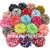 Free Shipping! 60pcs/lot NEW 2.5'' Unfinished Chevron Ballerina Flowers,Chiffon Flower For Kids , Baby Girls Hair Accessories