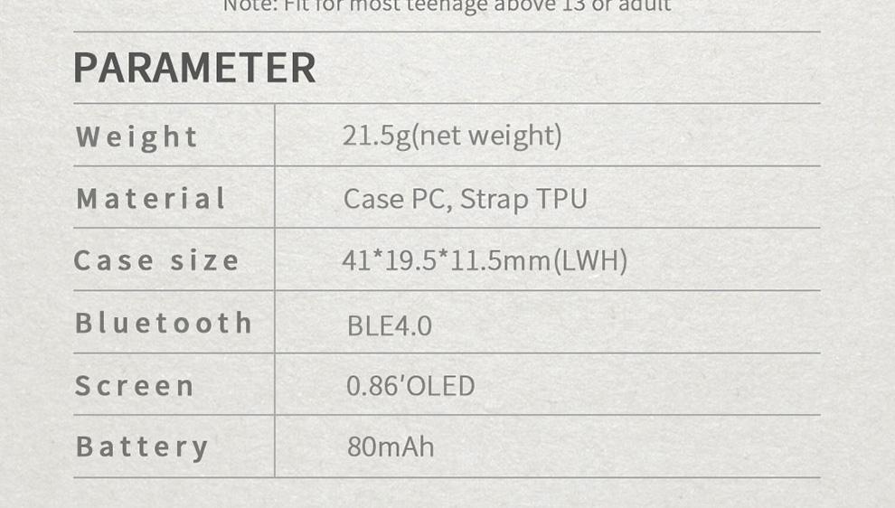 BOZLUN B15P Man Smart Wristband Blood Pressure Heart Rate Pedometer Alarm Clock Watch Bluetooth ios 4.0 Watch