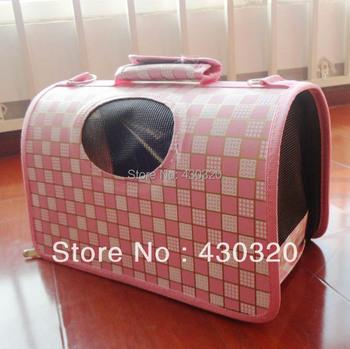 Free Shipping  Fashion Pet Dog Cat Carrier Travel Tote Bag Airline  shoulder bag handbag sizeM