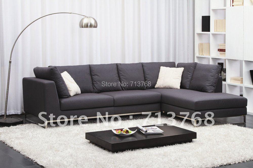 Modern furniture / living room corner fabric sofa/ sectional sofa MCNO422(China (Mainland))